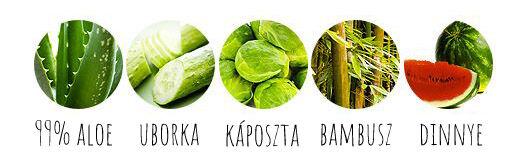 Holika Holika aloe vera soothing gel összetevők